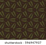 geometric shape abstract raster ... | Shutterstock . vector #596947937