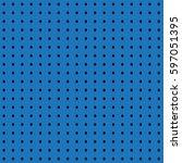 blue mesh seamless background ... | Shutterstock .eps vector #597051395