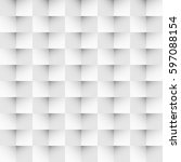 seamless monochrome triangular... | Shutterstock . vector #597088154