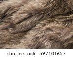 brown fur background   Shutterstock . vector #597101657