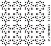 seamless pattern. modern... | Shutterstock . vector #597117281