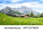 Traditional Austrian Alpine...