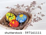 Hand Made Painted Easter Eggs...