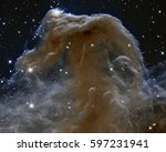 Stock photo horsehead nebula elements of this image furnished by nasa 597231941