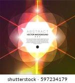 abstract vector background.... | Shutterstock .eps vector #597234179