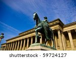 Prince Albert Statue And St...