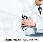 doctor. | Shutterstock . vector #597246491
