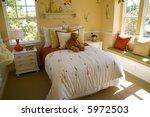 spacious kids bedroom with... | Shutterstock . vector #5972503