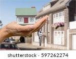 house. | Shutterstock . vector #597262274