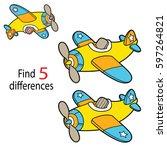 vector illustration of kids...   Shutterstock .eps vector #597264821
