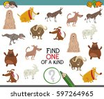 cartoon illustration of find... | Shutterstock .eps vector #597264965