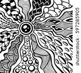 zen tangle or zen doodle