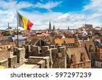 Medieval castle gravensteen ...