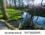 An Evening In Keukenhof Garden