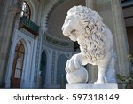 Marble Sculpture Of A Lion ...