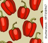 seamless hand drawn background... | Shutterstock .eps vector #597358967