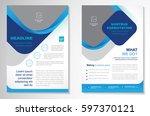 template vector design for... | Shutterstock .eps vector #597370121