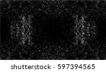 grunge black and white urban... | Shutterstock .eps vector #597394565