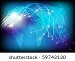 optical fibers | Shutterstock . vector #59743130