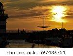 Sunset Over Marina Rheinsberg...