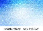 light blue vector christmas... | Shutterstock .eps vector #597441869