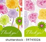 roses and gerberas card