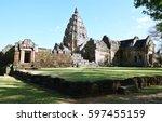 Khao Phanom Rung Castle Rock...
