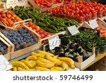 Fruit And Vegetables At A...