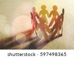 community. | Shutterstock . vector #597498365