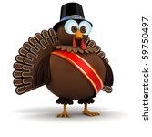 3d turkey | Shutterstock . vector #59750497