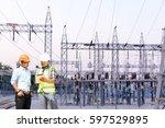 electrical power engineering   Shutterstock . vector #597529895