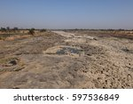 Dried River In India