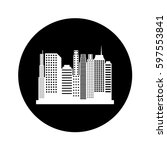 cityscape silhouette isolated