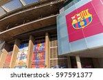 barcelona  spain   september 17 ...   Shutterstock . vector #597591377