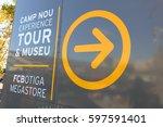 barcelona  spain   september 17 ... | Shutterstock . vector #597591401