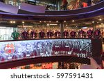 barcelona  spain   september 17 ... | Shutterstock . vector #597591431