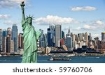 photo tourism concept new york... | Shutterstock . vector #59760706
