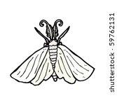 moth cartoon | Shutterstock .eps vector #59762131