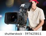 film. | Shutterstock . vector #597625811