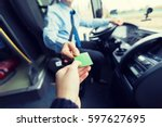 transport  tourism  road trip... | Shutterstock . vector #597627695