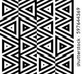vector seamless pattern.... | Shutterstock .eps vector #597644369
