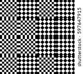 vector seamless pattern.... | Shutterstock .eps vector #597647915