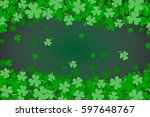 Green Clover Abstract...