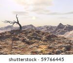 A Dead Tree Forms The Center O...