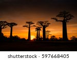a sunset shot right before the... | Shutterstock . vector #597668405
