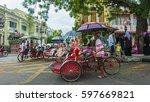 georgetown  penang  malaysia  ...   Shutterstock . vector #597669821