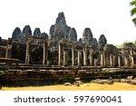 Ancient Bayon Temple  Angkor...