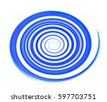 colored circles on  background. | Shutterstock . vector #597703751