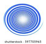 colored circles on  background. | Shutterstock . vector #597705965