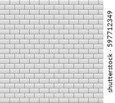 Gray Brick Wall Background....